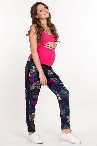 Брюки для беременных 10136 темно-синий