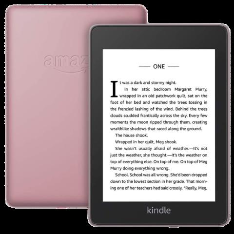 Электронная книга Amazon Kindle Paperwhite 2018 plum (розовый) (Ad-Supported)