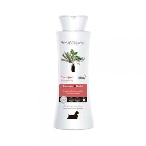 Травяной защитный органический ЭКО-шампунь Herbal Protecteur Shampoo Organissime by Biogance для собак всех пород с комплексом эфирных масел 250 мл 250 мл