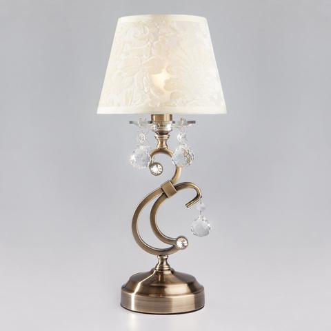 Настольная лампа 1448/1T античная бронза
