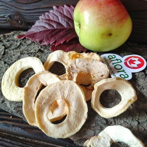 Фотография Чипсы фруктовые Яблоко очищенное / 250 г купить в магазине Афлора