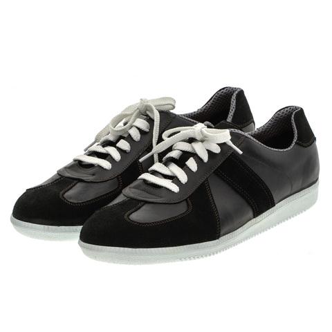 556396 черный полуботинки мужские. КупиРазмер — обувь больших размеров марки Делфино