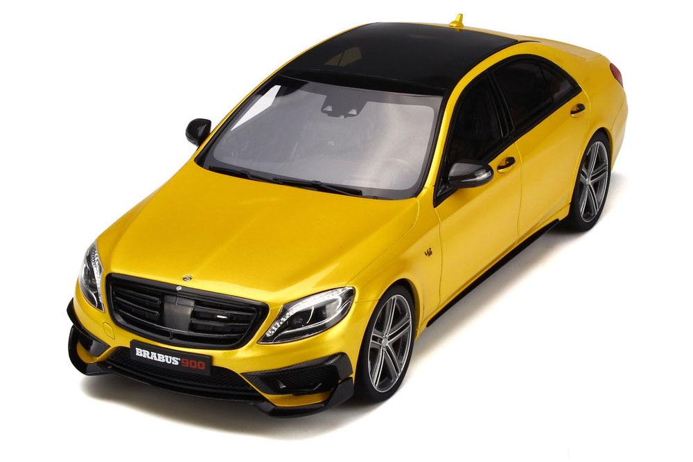 Коллекционная модель MERCEDES-BENZ W222 S-CLASS BRABUS ROCKET 900 V12 2017 GOLDEN