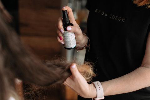 Сыворотка-спрей для волос Брокколи Краснополянская косметика, 100 мл