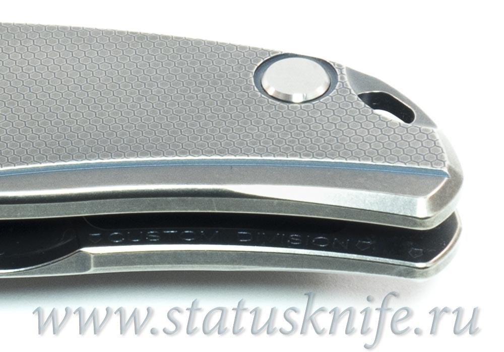 Нож Широгоров Ф95 Соты Honeycomb S90V Кастом Дивижн - фотография