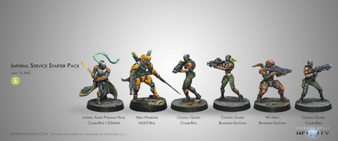Imperial Service Yu Jing Sectorial Starter Pack
