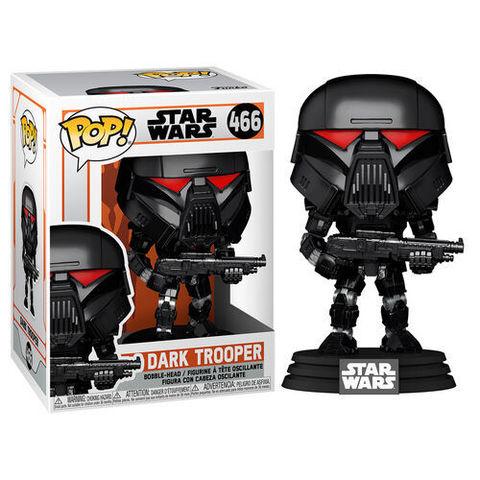 Funko POP! Bobble Star Wars Mandalorian Dark Trooper (Battle)