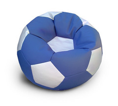 Кресло мяч Сине-Серебристый