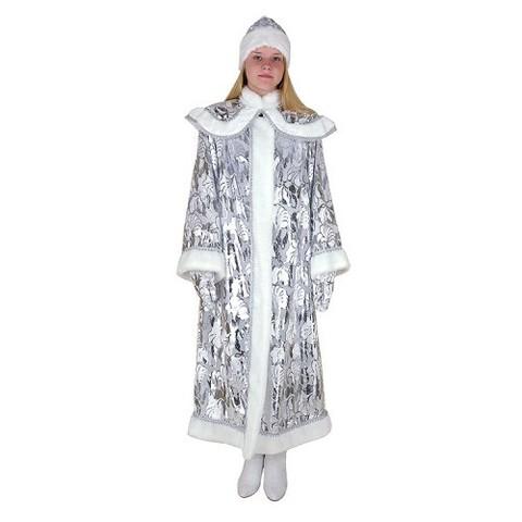 Снегурочка длинная с пелериной панбархат