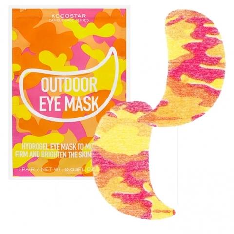 Kocostar Гидрогелевые патчи для глаз на тканевой основе Camouflage Hydrogel Eye Mask, 1 шт