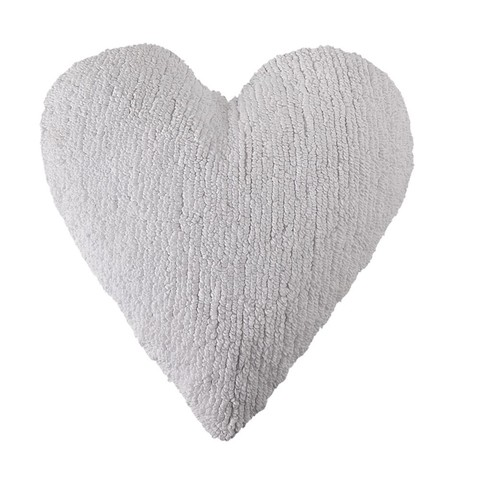Подушка Lorena Canals Heart White (50 x 45 см)