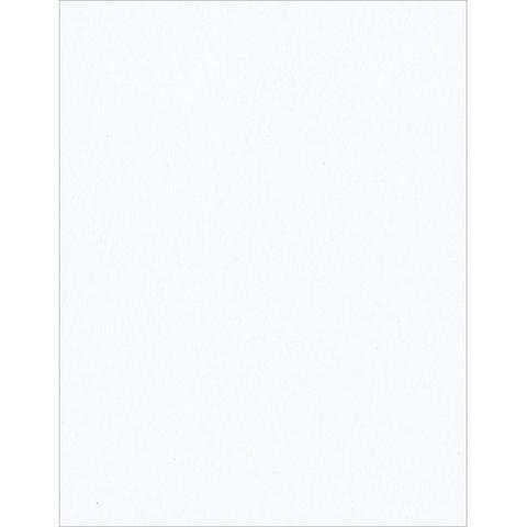 Кардсток А4  Bazzill Classic Cardstock -  White -штучно