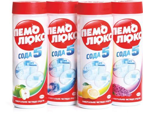 Чистящее средство ПЕМОЛЮКС 480гр (в ассортименте)