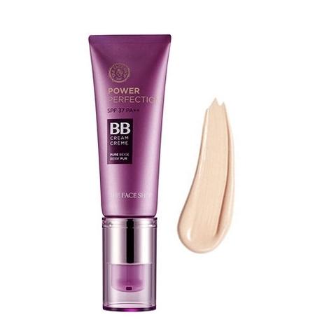 ББ-крем для совершенной кожи  THE FACE SHOP Power Perfection BB SPF37 PA++ (Тон №  V203 Natural Beige)