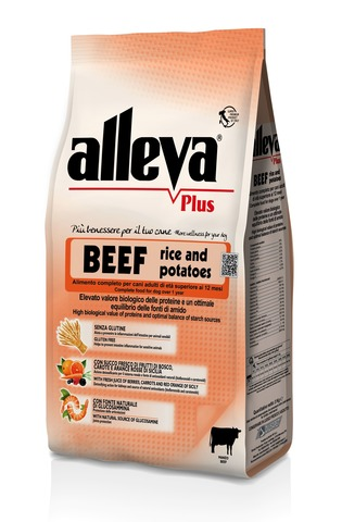 Сухой корм Alleva Plus Gluten Free Beef Rice and Potatoes