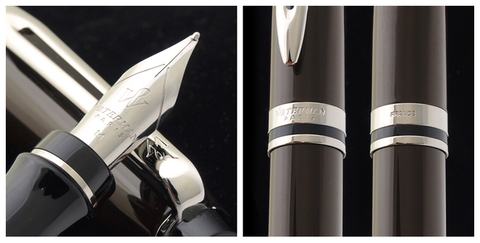 *Перьевая ручка Waterman Expert 3, цвет:  Deep Brown CT перо: F123