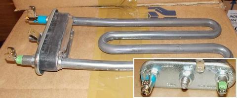 Тэн для стиральной машины Bosch WMV 1600/Siltal 348x/Siemens WV-1080, без отверстия