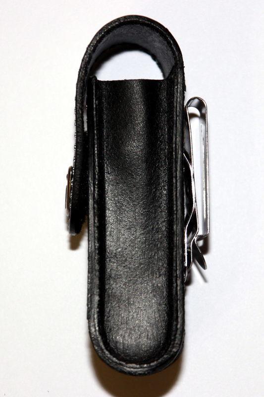 Чехол Victorinox с поворотной клипсой (4.0524.31) натуральная кожа