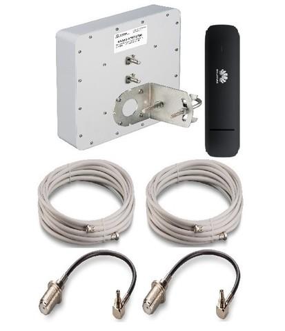 Комплект для интернета  2G/3G/4G сигнала с антенной KAA 15-1700/2700