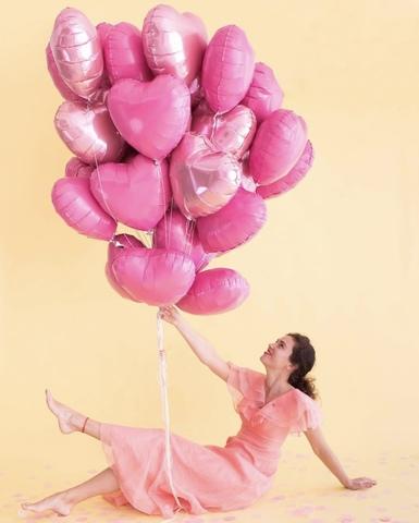 Розовое облако, 30 сердец