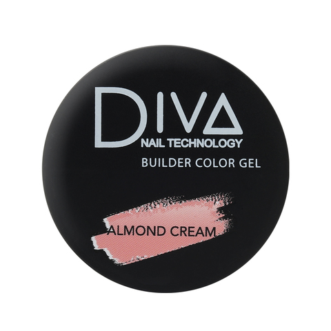 Гель DIVA Builder gel Almond Cream 30мл