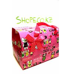 Подарочная коробка, Шоколадный мишка, 19,5x13x19см