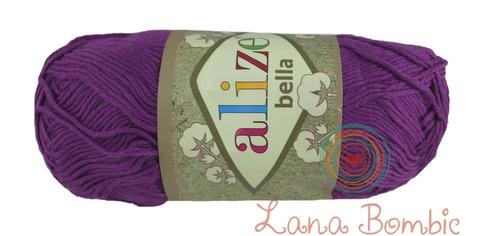 Пряжа Alize Bella 45 фиолетовый