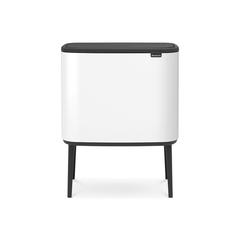 Мусорный бак Touch Bin Bo (3 х 11 л), Белый