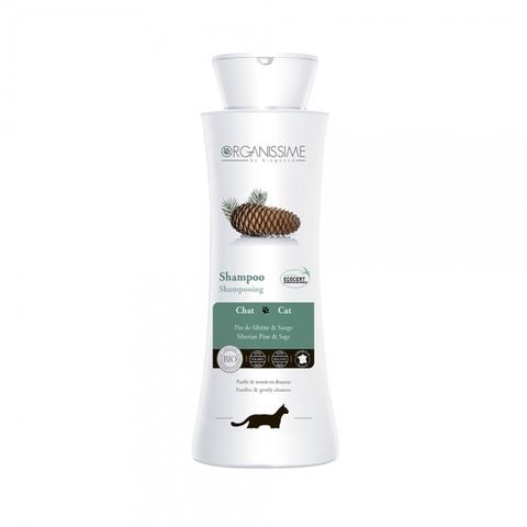 Органический ЭКО-шампунь Cat Shampoo Organissime by Biogance для кошек с экстрактом шалфея и маслом сибирской пихты 250 мл 250 мл