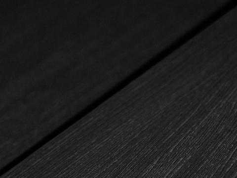 Террасная доска SW Fagus (R) - радиальный распил. Цвет черный.