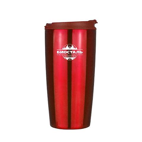 Термокружка Biostal Crosstown (0,5 литра), красная