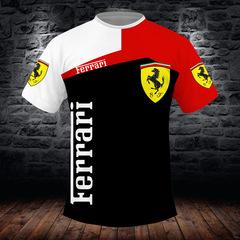 Футболка 3D принт, Ferrari (3Д Феррари) 02