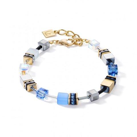 Браслет Blue-Gold 2839/30-0716 цвет голубой, синий, серый