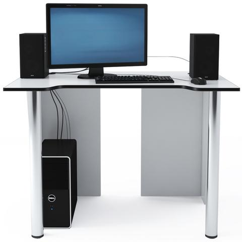 Стол Компьютерный LevelUP 1100 Белый/Черный