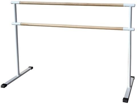 Станок хореографический переносной, двухрядный (2,0м.) поручень - сосна