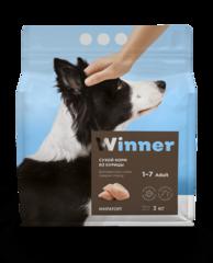 Сухой корм Winner Мираторг для взрослых собак средних пород