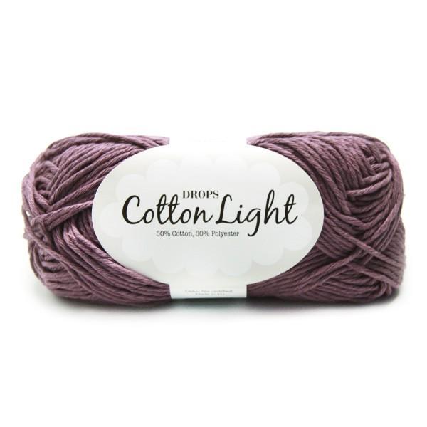 Пряжа Drops Cotton Light 24 виноград