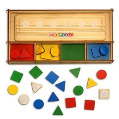 Обучающая игра для малышей Геометрик, Smile Decor
