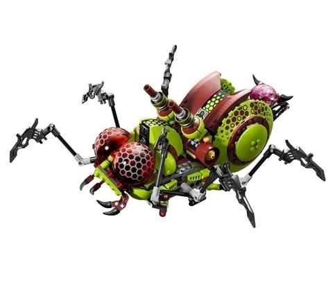 LEGO Galaxy Squad: Паук-инсектоид 70708 — Галактический отряд — Hive Crawler
