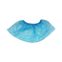 Бахилы одноразовые полиэтиленовые Paramedicum текстурированные особо прочные 6 г голубые (25 пар в упаковке)
