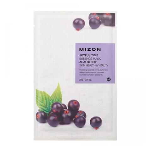 Тканевая маска с экстрактом ягод асаи MIZON Joyful Time Essence Mask Acai Berry