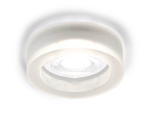 Встраиваемый точечный светильник со светодиодной лентой S9160 W/CH/WH матовый/хром/MR16+3W(LED WHITE)