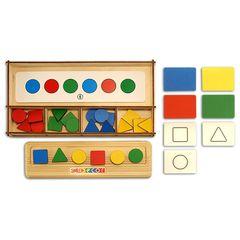 Обучающая игра для малышей Геометрик, Smile Decor П714