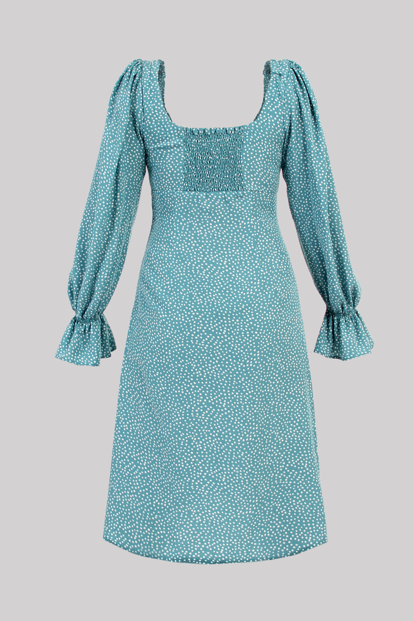 Платье из вискозы с аппликацией