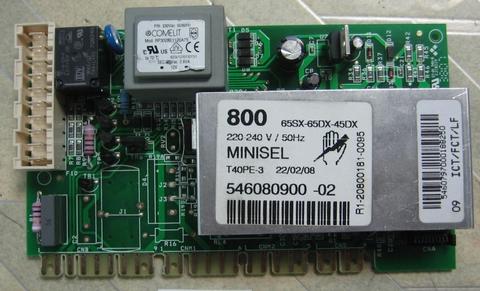 Модуль для стиральной машины Ардо - 546080900, 546080901 (800 RPM)  minisel