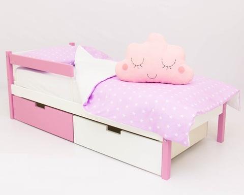 Кровать SKOGEN лаванда-белый