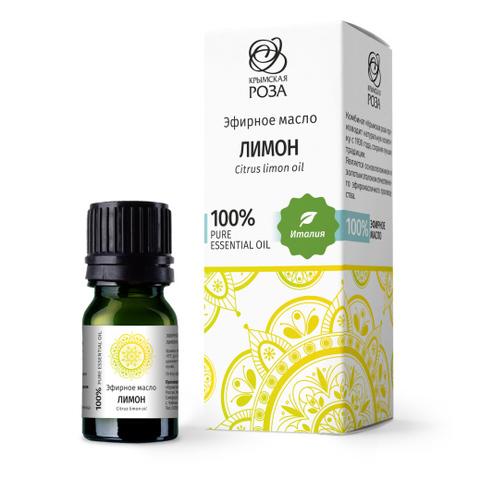 Эфирное масло Лимон / Крымская роза, 5 мл