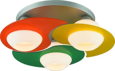 INL-9291C-03 Silver & Green, Yellow, Orange