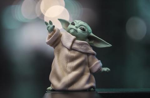 Фигурка Дитя (Малыш Йода) / Baby Yoda, 8 см