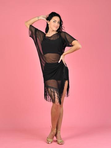 Платье для латины «Флора»